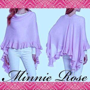 Cashmere Ruana | Poncho Minnie Rose